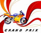 racing vector poster