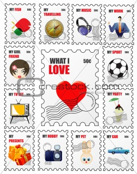 lifestyle stamps