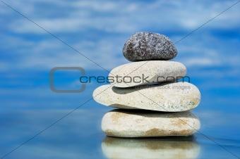 Four stones