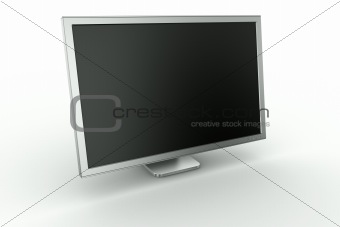 Monitor in aluminum