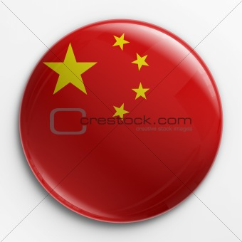 Badge - Chinese flag