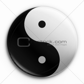 Badge - Yin Yang