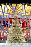 Christmas Tree of China National Olympic Stadium as known as Bird Nest