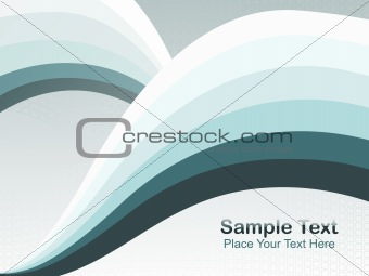 abstract fancy wave vector, design16
