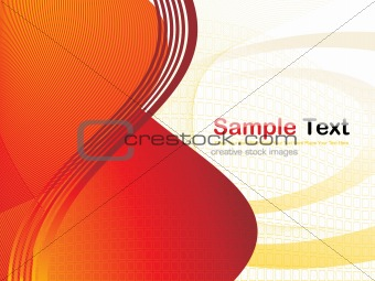 abstract fancy wave vector, design17