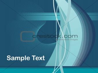 abstract fancy wave vector, design18