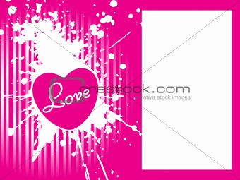abstract pink background with grunge elements