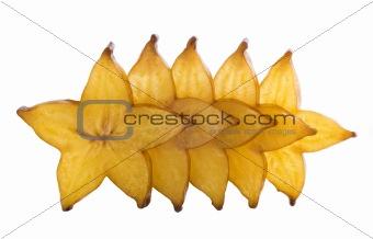five stars of carambola