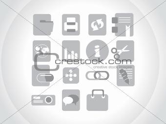 gray, creative icon
