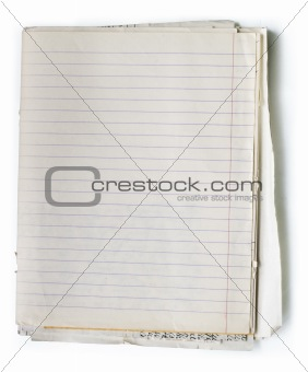 Old note book