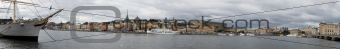 Panorama of Stockholm