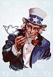 Peaceful Uncle Sam