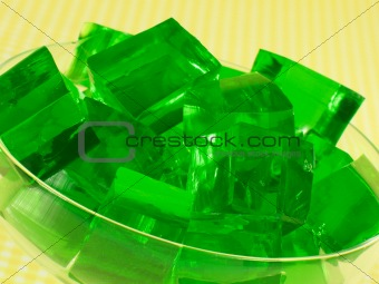Green Gelatin