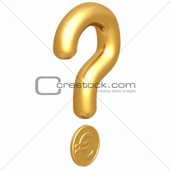 Question Mark Euro