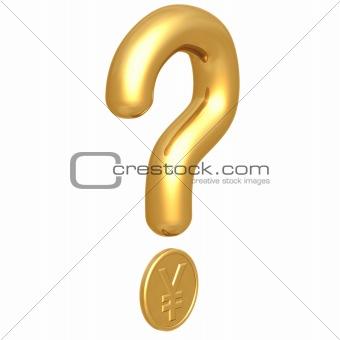 Question Mark Yen