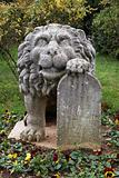 Stone lion