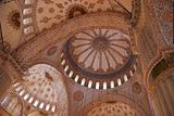 Arches and domes with islamic patterns