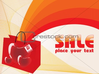 20% discount on wedding shopping, vector