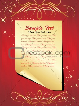abstract background of christmas ornamented, wallpaper