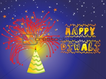 firework background Vector design8