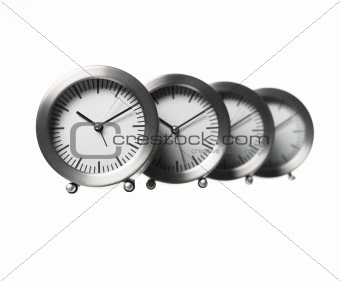 Four clocks