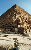 The image of pyramids in Egypt, Cairo, Giza
