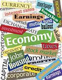 Economy Word Collage