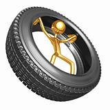 Inside Tire