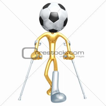 Injured Soccer Football Player