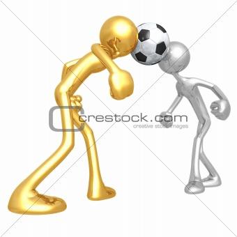 Soccer Football Dueling Header