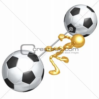 Soccer Football Weight Training