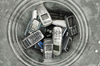 Abjected cellphones