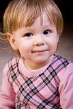 Beautiful little girl face