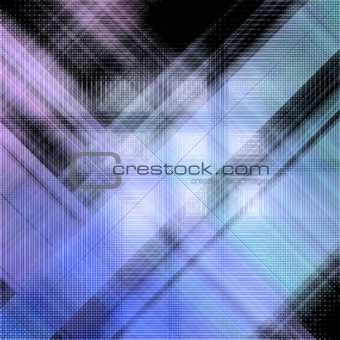 Abstract background with crossed lines