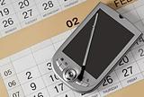 PDA and calendar