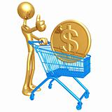 Shopping Cart Dollar