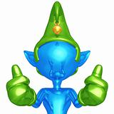 Elf Two Thumbs Up