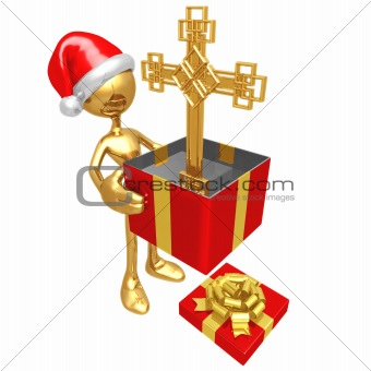 Christmas Gift Cross
