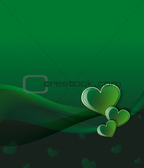 green love background