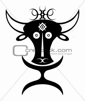 african buffalo idol