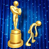 Film Award Loser Walking Away