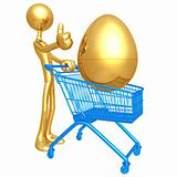 Investment Egg Shopping Cart