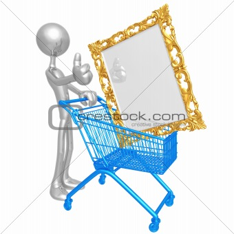 Art Shopping Cart