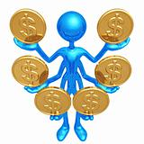 Handling Multiple Dollar Coins