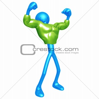 Green Muscle Suit