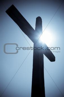 cross silhouete