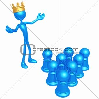 King Among Pawns