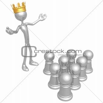 King Among Pawns