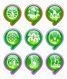 advance global warming icons