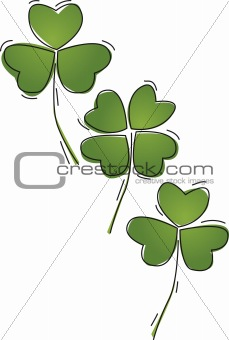 3 and 4 leaf clover